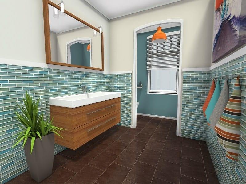Screenshot of the RoomSketcher Software 3D Snap Shot.