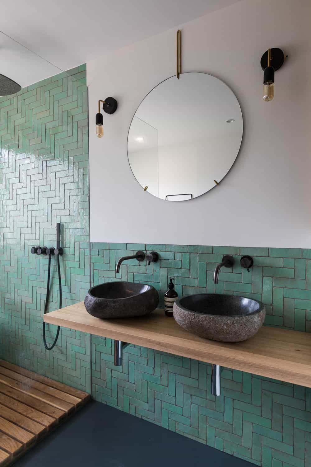 Wash area in the Frans Halsstraat designed by Cantero Architecture.