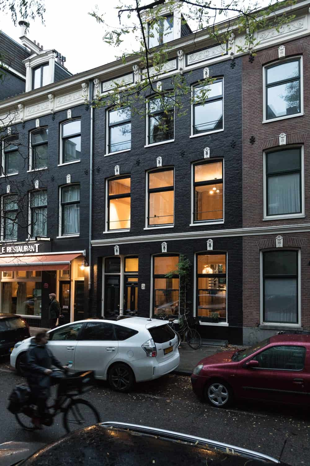House exterior of the Frans Halsstraat designed by Cantero Architecture.