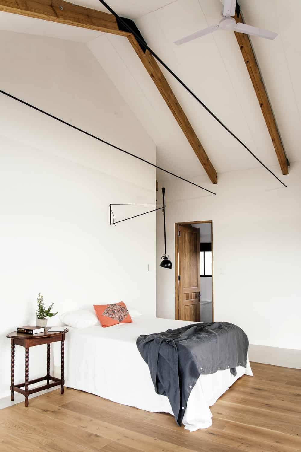 Bedroom in The Conservatory designed by Nadine Engelbrecht.