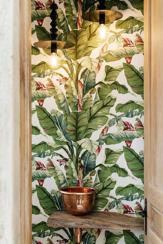 Washroom in The Conservatory designed by Nadine Engelbrecht.