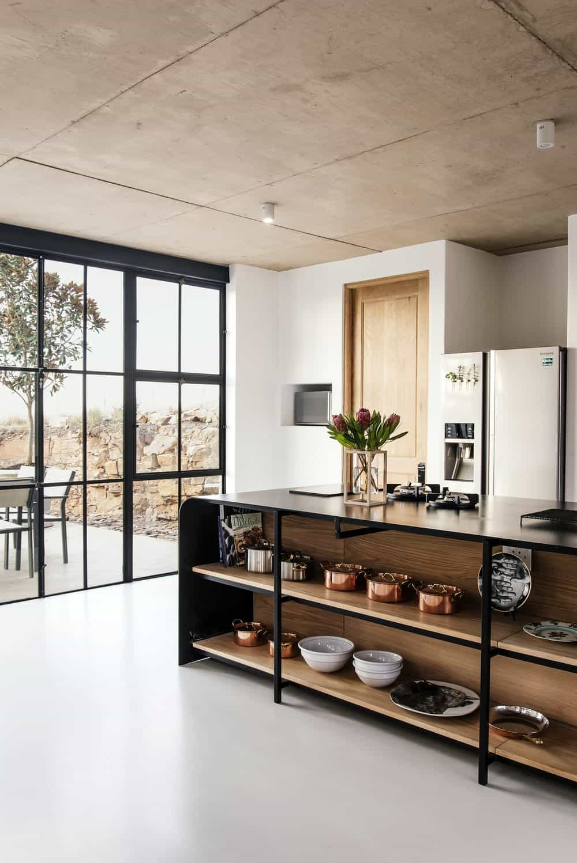 Kitchen in The Conservatory designed by Nadine Engelbrecht.