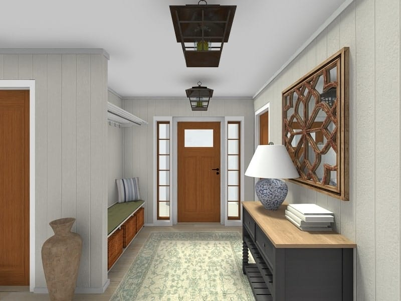 Screenshot of the RoomSketcher Software replace materials.