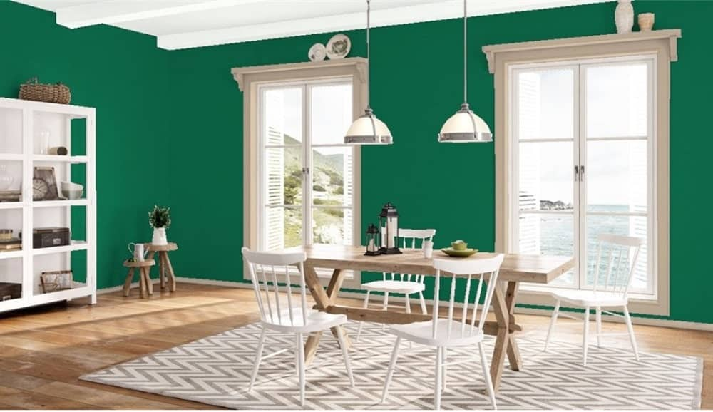 Celtic Green by Benjamin Moore