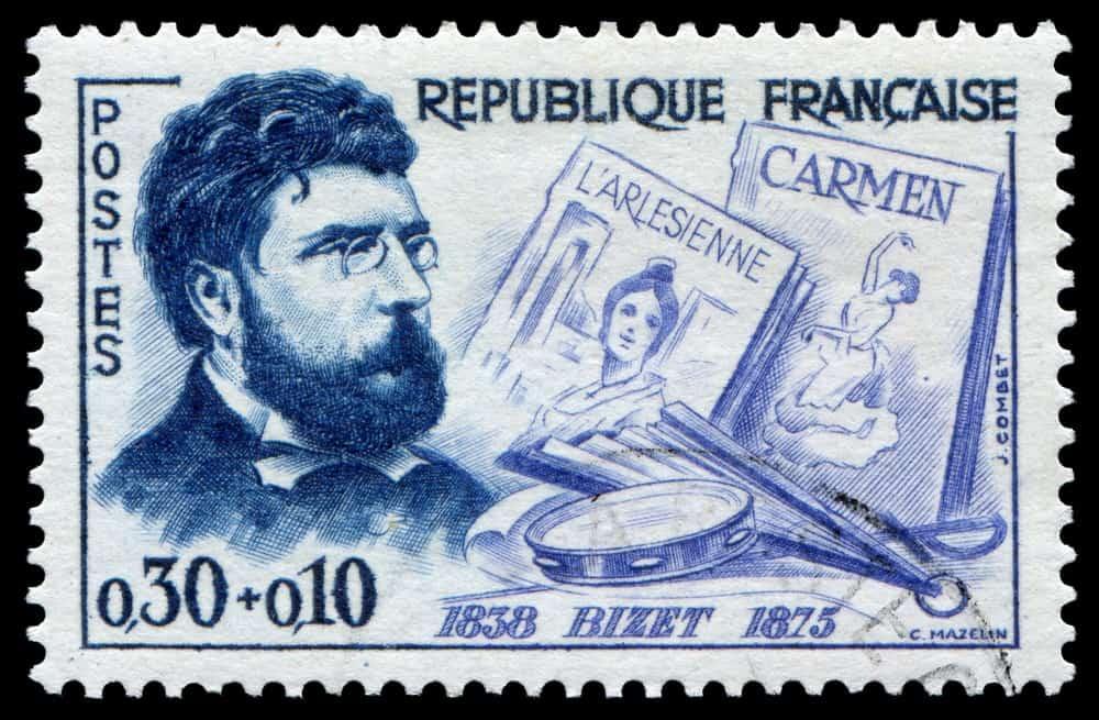 Georges Bizet stamp