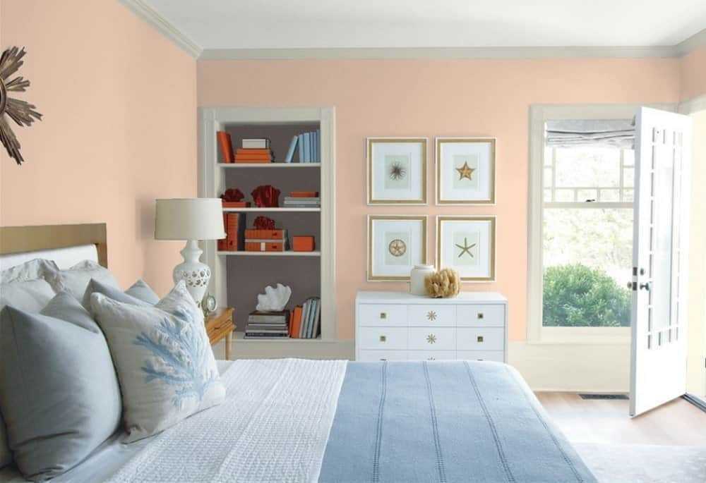 Georgetown Pink Beige by Benjamin Moore