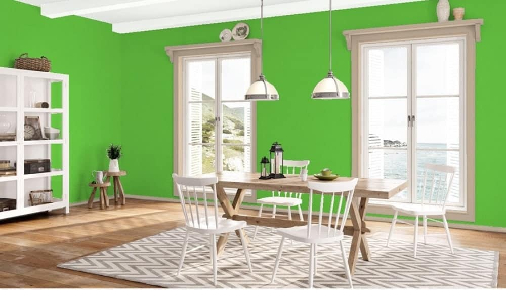 Lucky Charm Green by Benjamin Moore