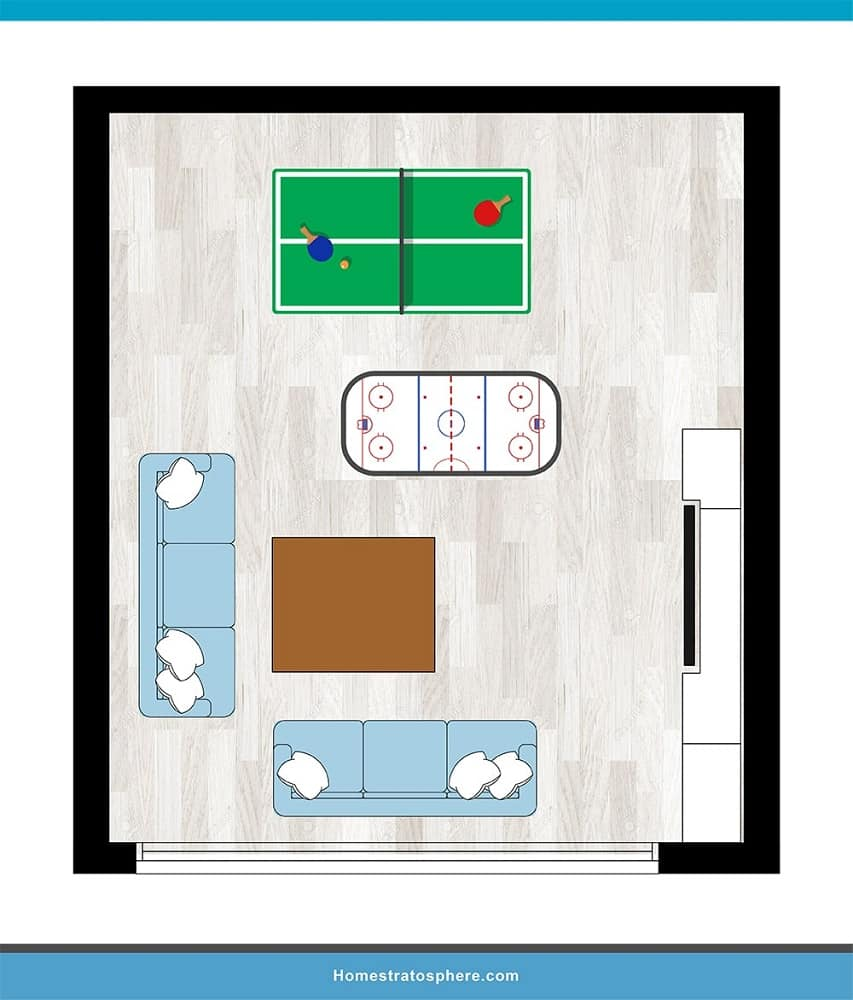 Man Cave Layout #24 - A Chilled Evening