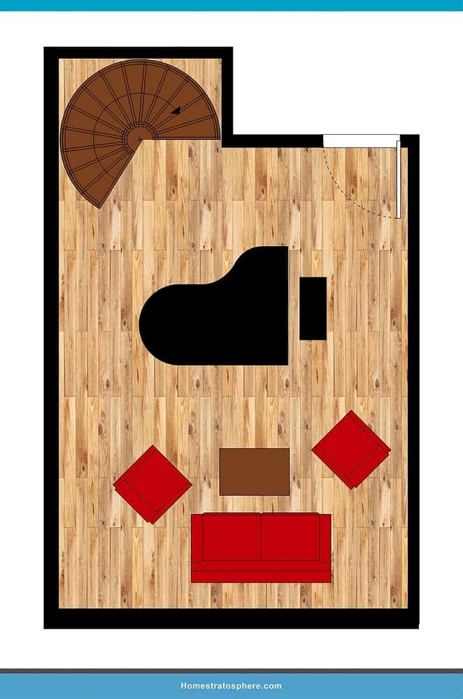 Man Cave Layout #30 - Play Some Jazzy Tunes