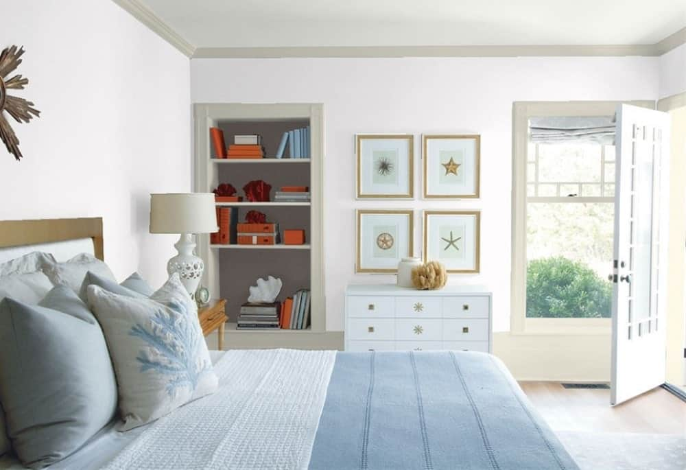 Mirage White by Benjamin Moore