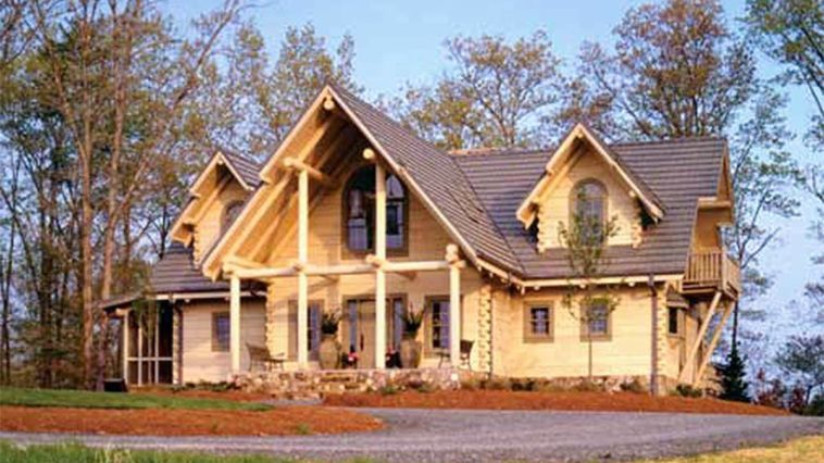 Beautiful Log Home And Cabin Floor Plans