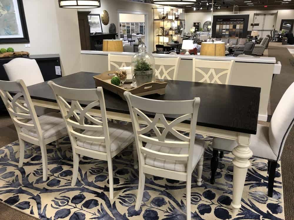 Custom Dining Table by Bassett