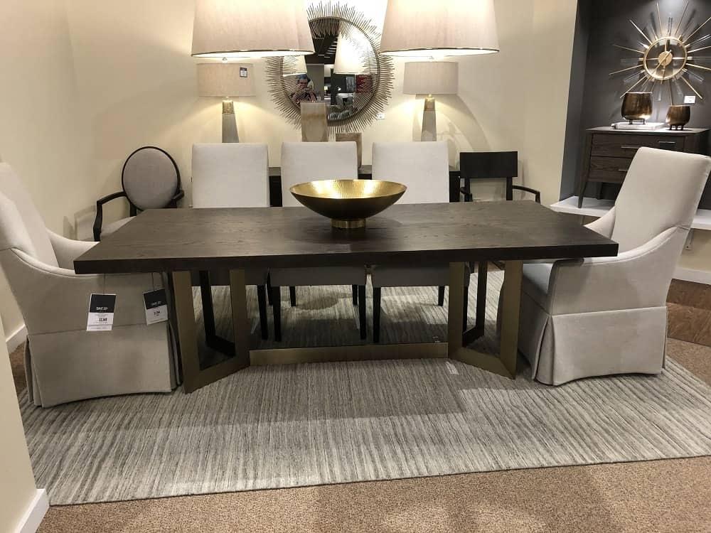 Modern Dining Table by Bassett