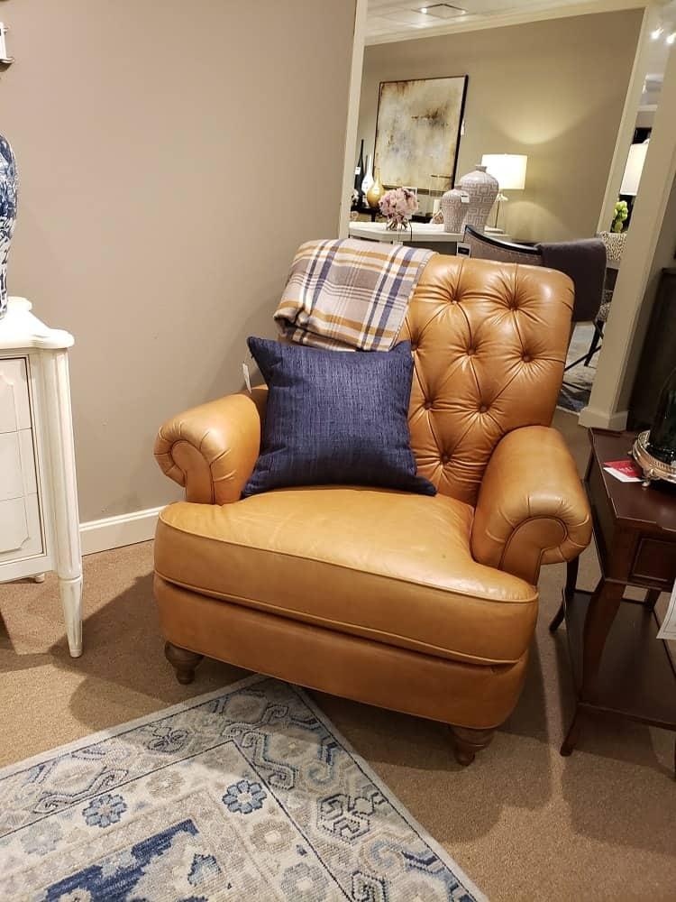 Shawe Arm Chair by Ethan Allen
