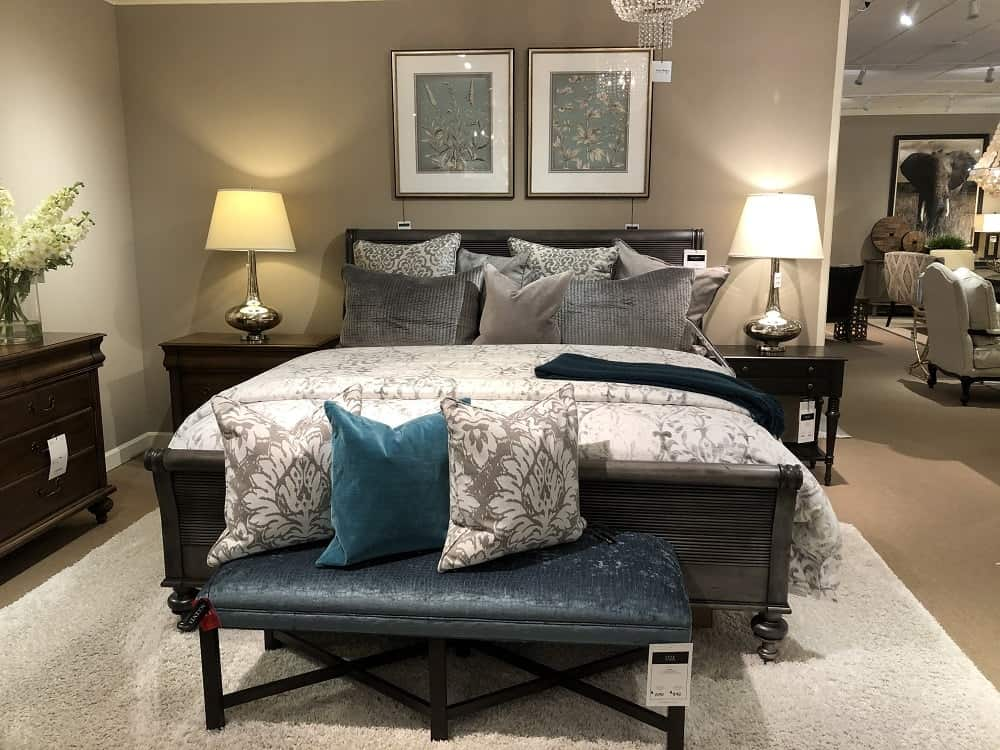 Kingston Bed Frame by Ethan Allen