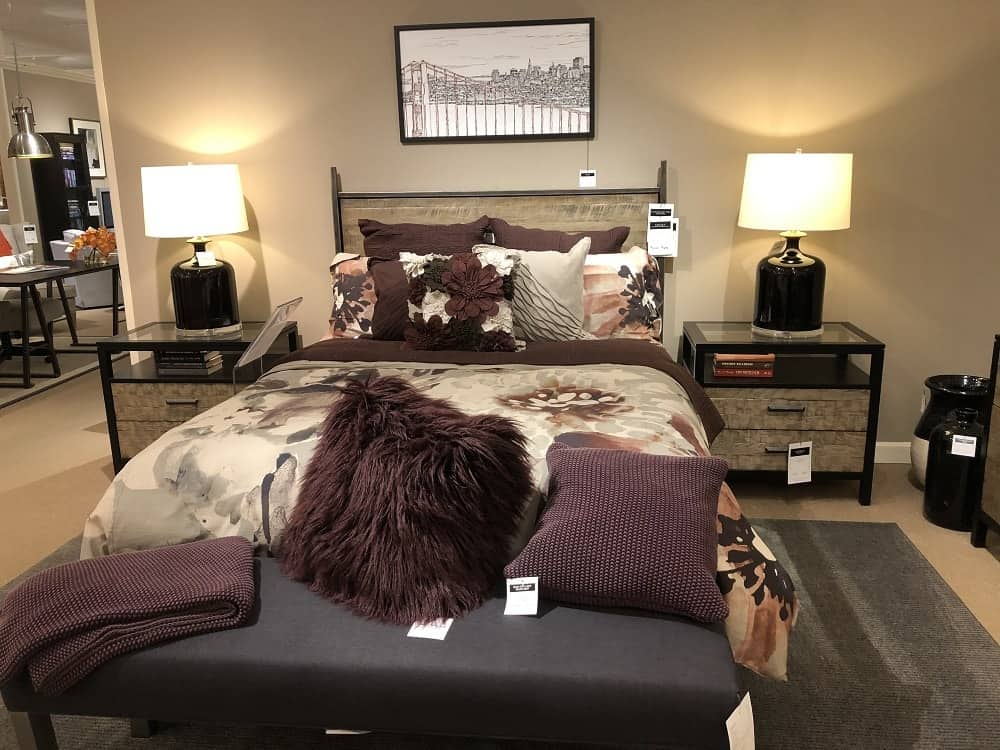 Lincoln Bed Frame by Ethan Allen