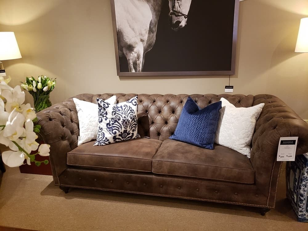 Mansfield Sofa by Ethan Allen