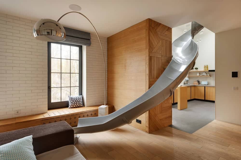 GG. Apartment (Apartment with a slide) by Ki Design