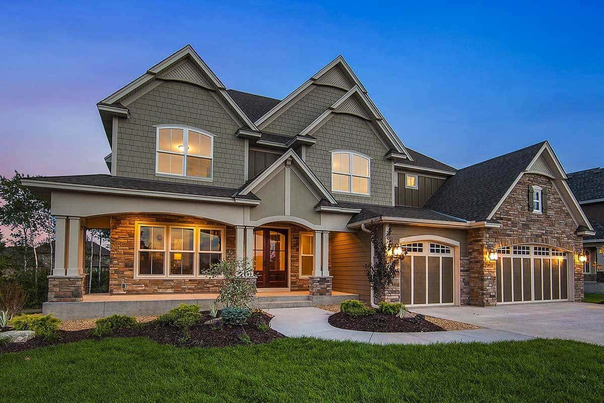 2-Story Craftsman Home with an Amazing Open-Concept Floor Plan