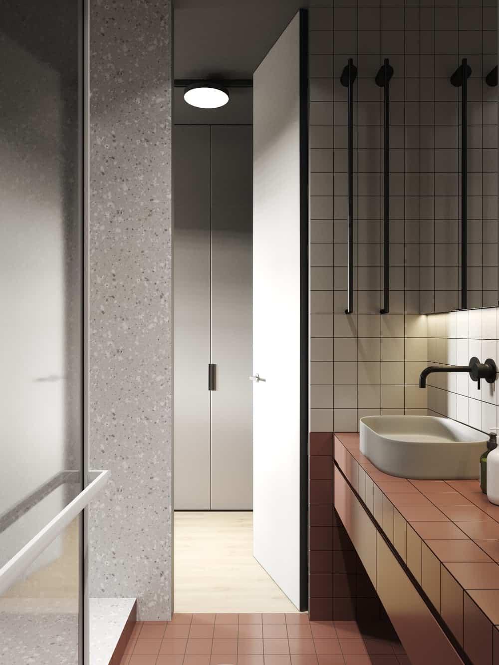 Washroom in the Goose designed by Cartelle Design.
