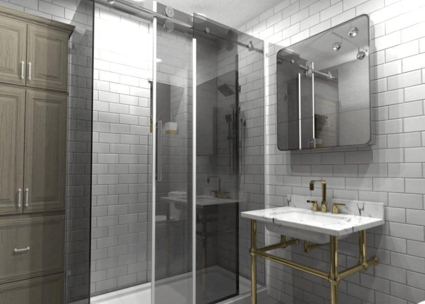 Unique bathroom basin