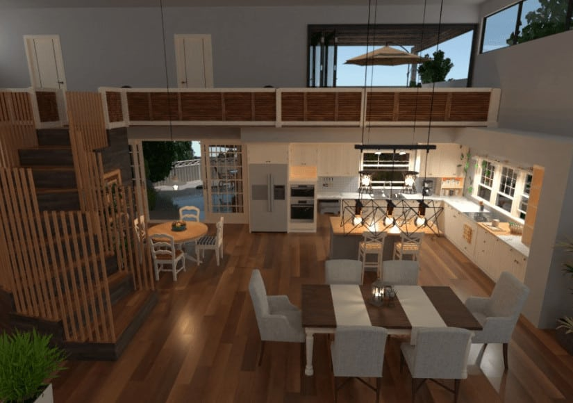 Dining Room Design Example