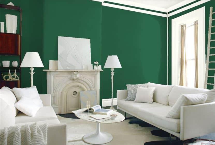 Buffett Green by Benjamin Moore