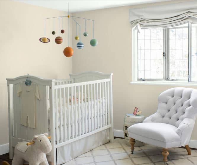 25 Of The Best White Paint Color Options For Kids Bedrooms