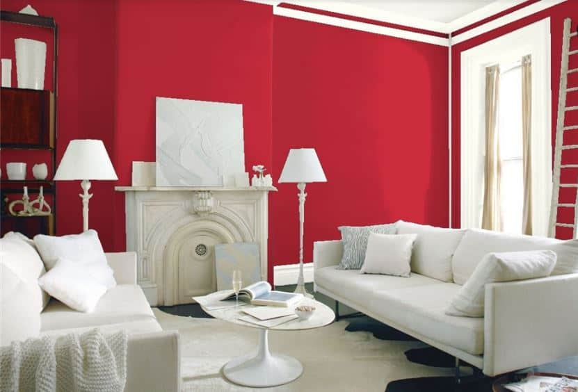 Exotic Red by Benjamin Moore