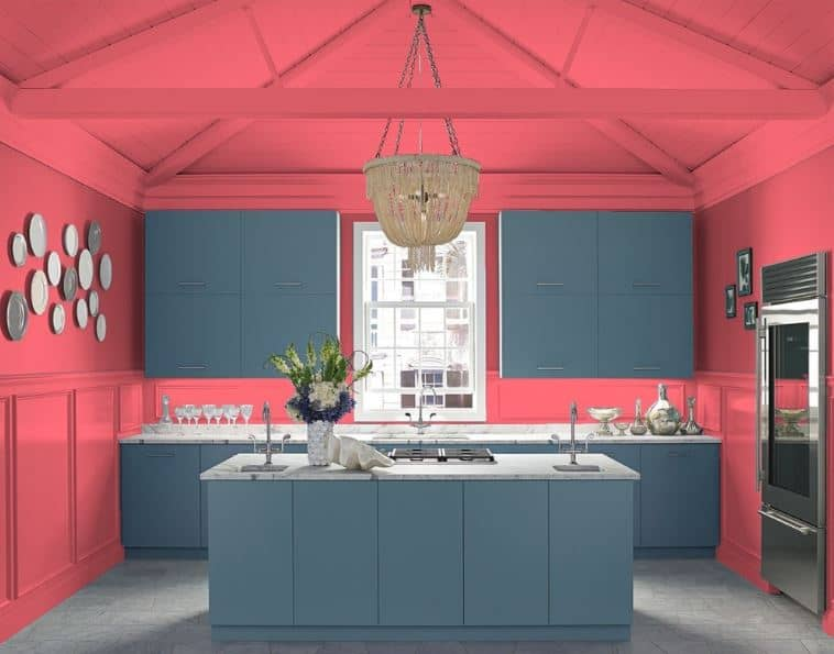 Milano Red by Benjamin Moore
