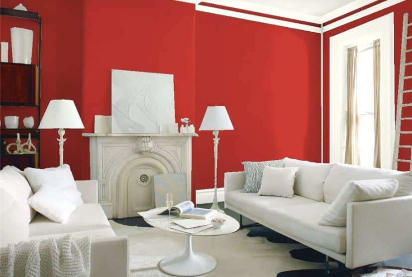 Million Dollar Red by Benjamin Moore