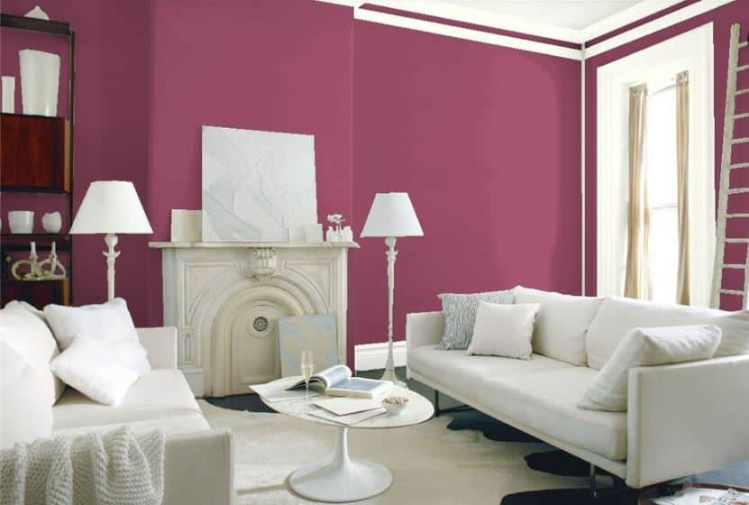 Old Claret by Benjamin Moore