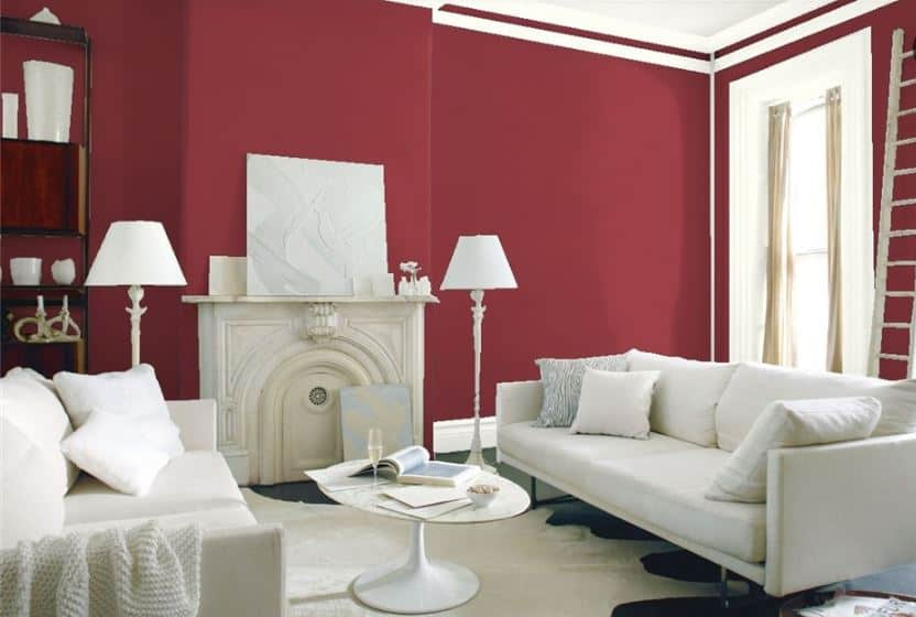 Pomegranate by Benjamin Moore