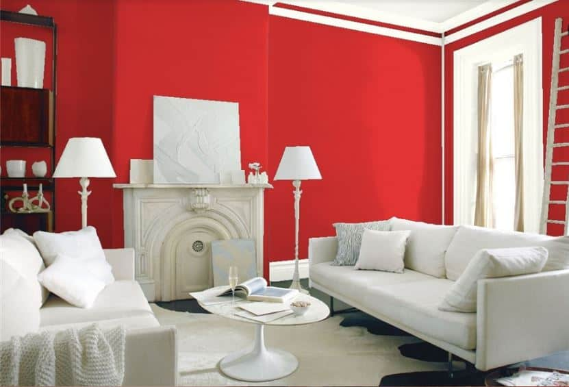 Red by Benjamin Moore