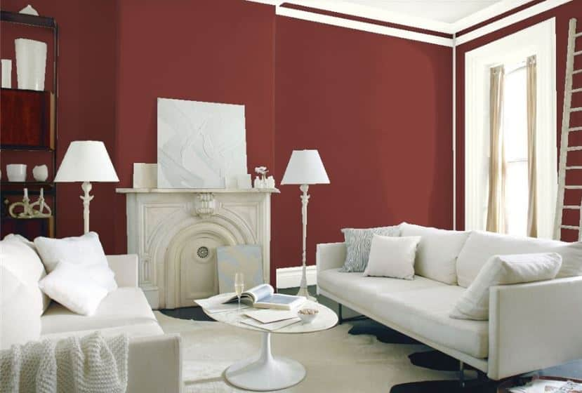 Sundried Tomato by Benjamin Moore