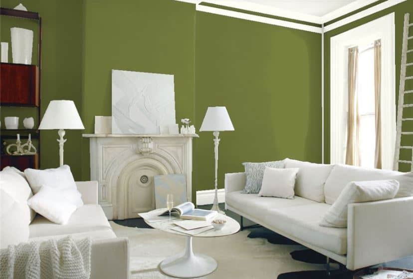 Timson Green by Benjamin Moore