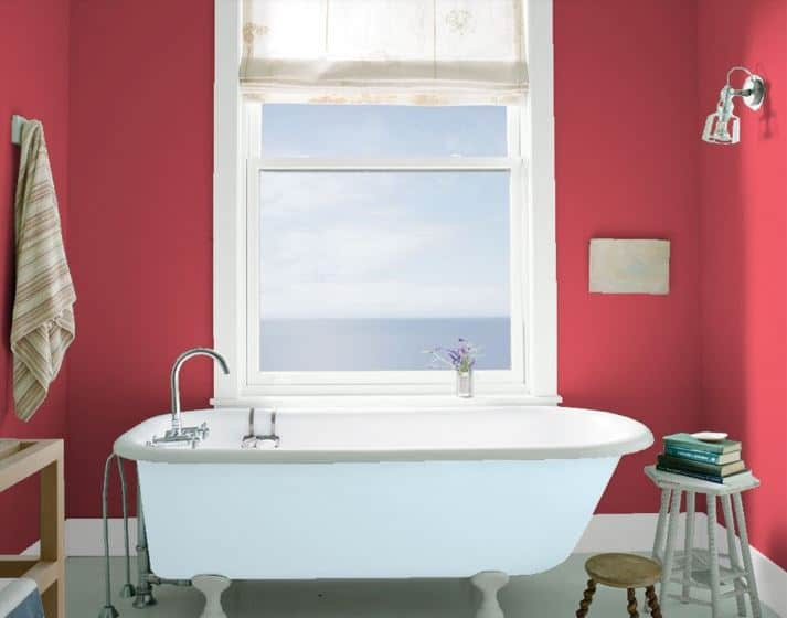 Umbria Red by Benjamin Moore