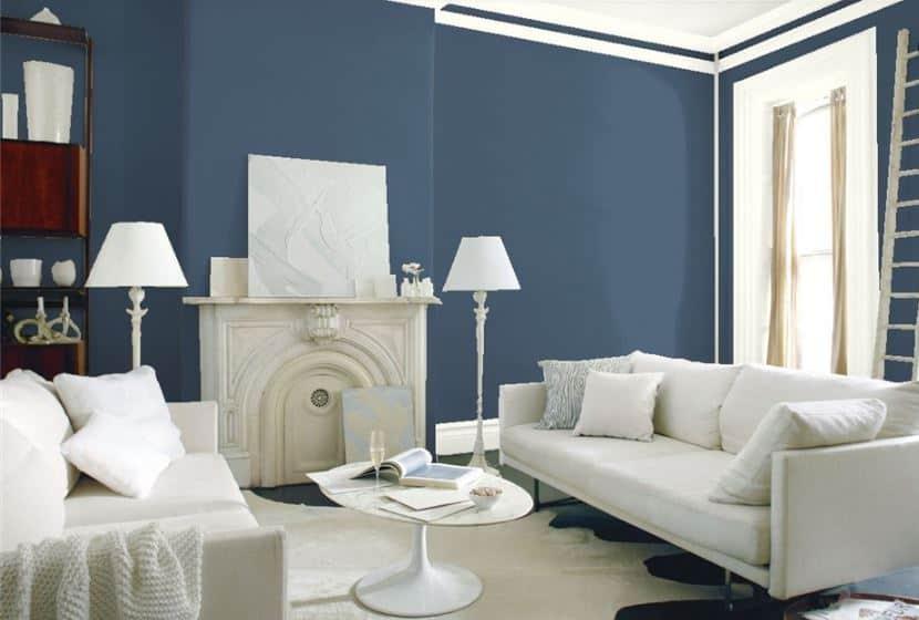 Van Deusen Blue by Benjamin Moore