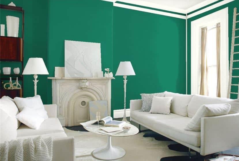 Very Green by Benjamin Moore