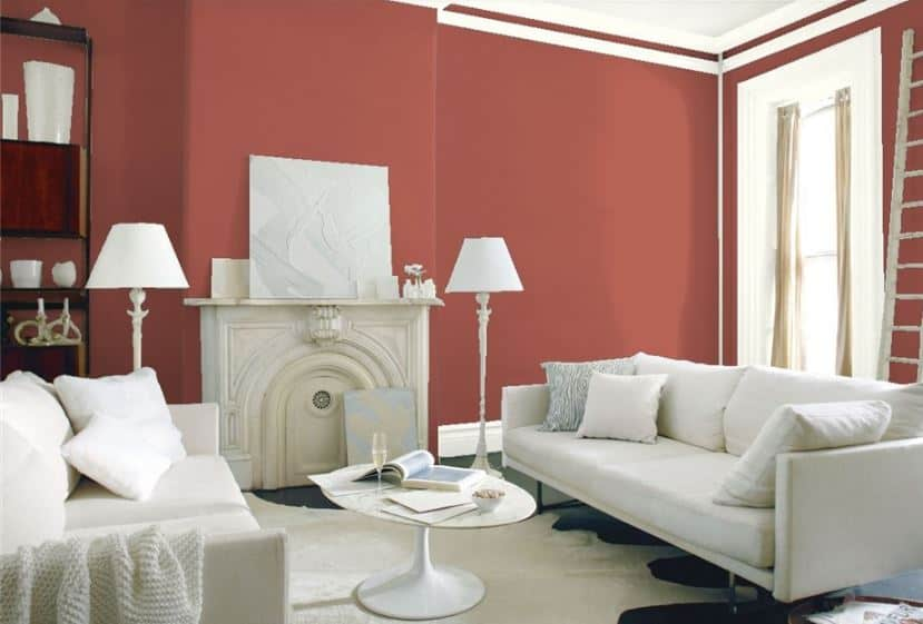 Warm Sienna by Benjamin Moore