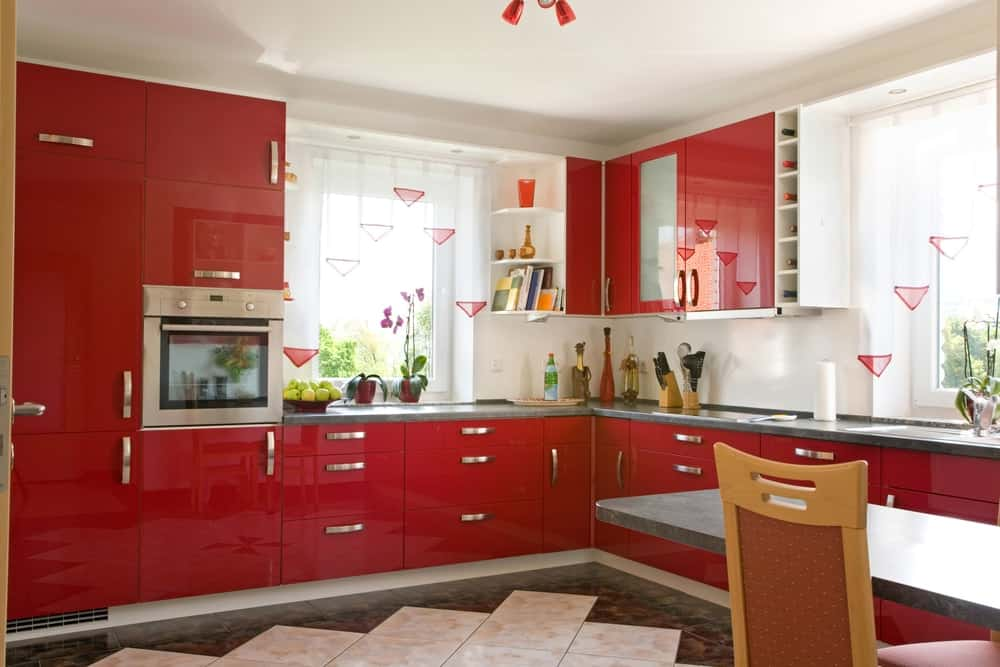 Red Paint Color Options For Kitchens