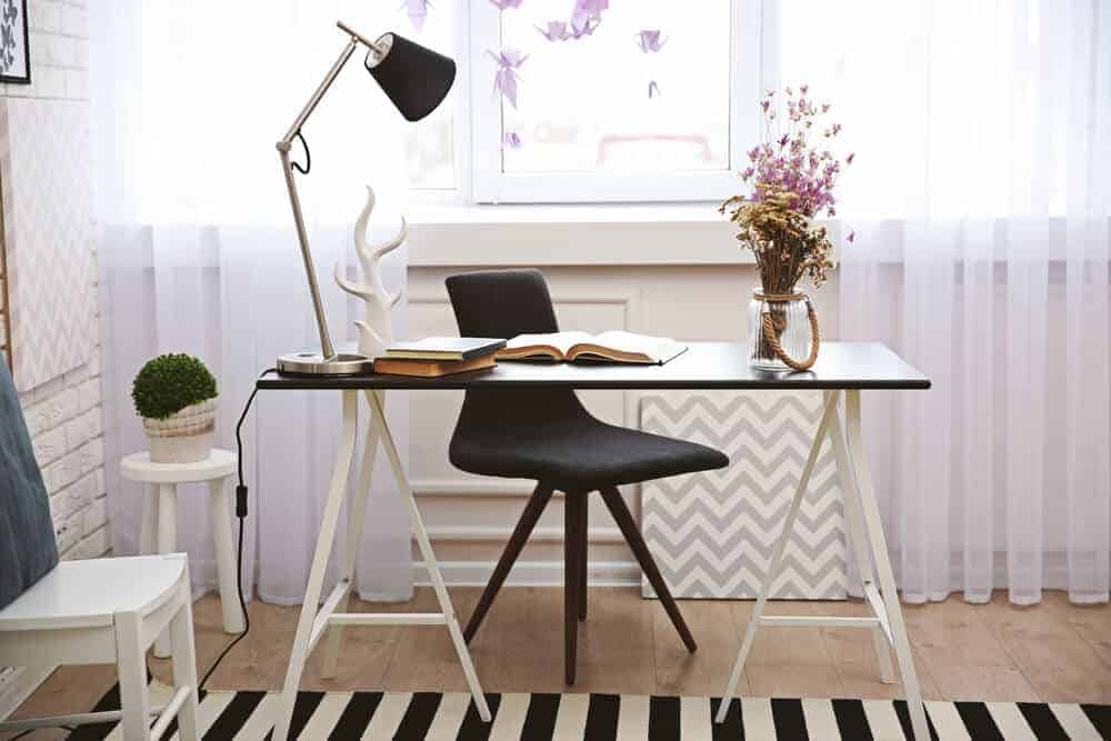 20 Black And White Home Office Ideas Photos Stratosphere