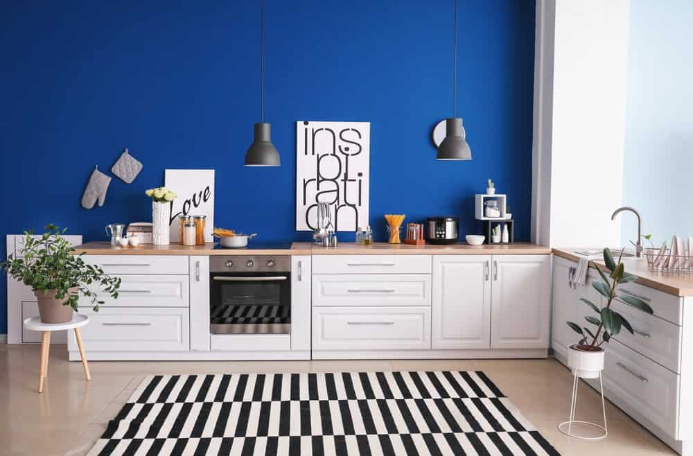 25 Of The Best Blue Paint Color Options For Kitchens Home Stratosphere