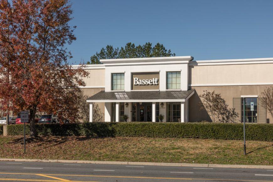 Bassett Storefront in Pineville, NC
