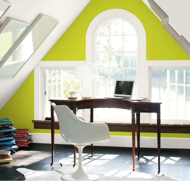Eccentric Lime by Benjamin Moore