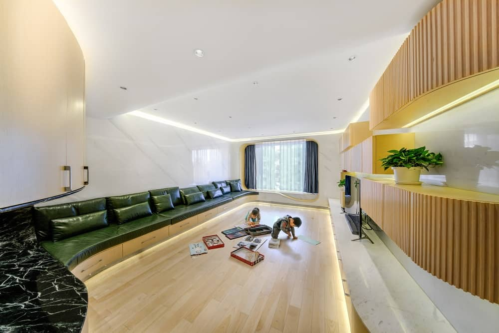 Home Space with Two Kids by Atelier Alter