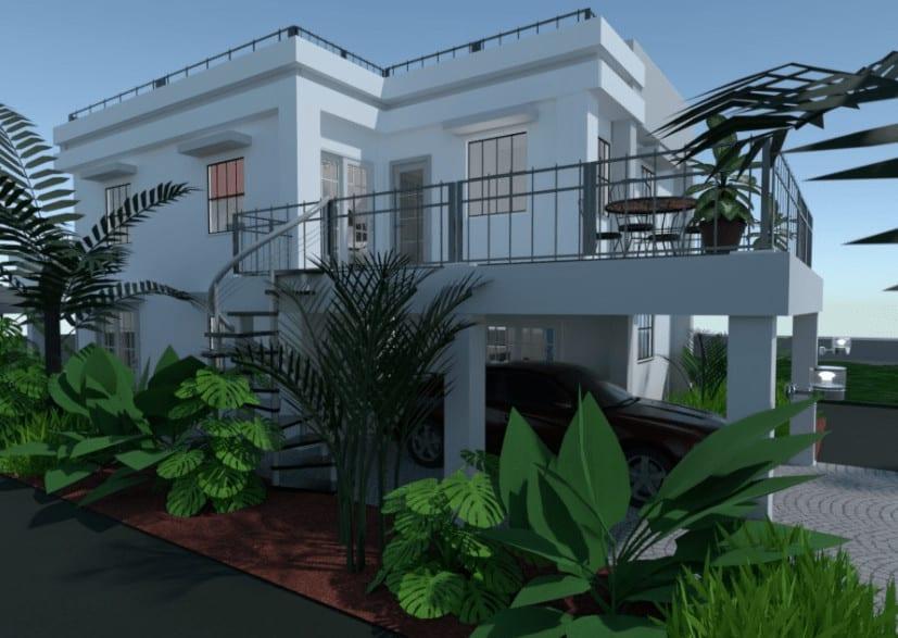 European house design style