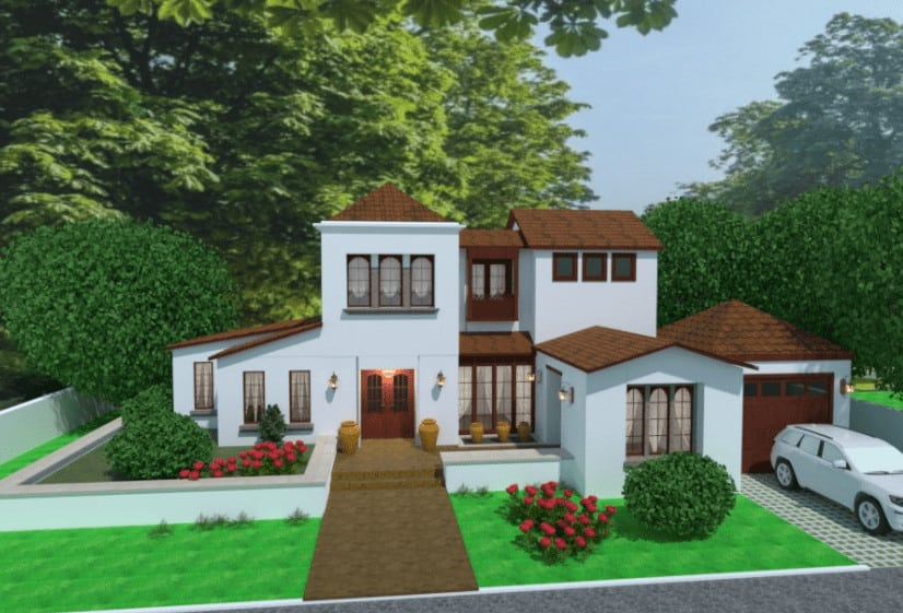 Spanish house design