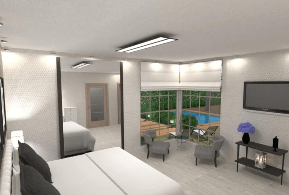 Primary bedroom design