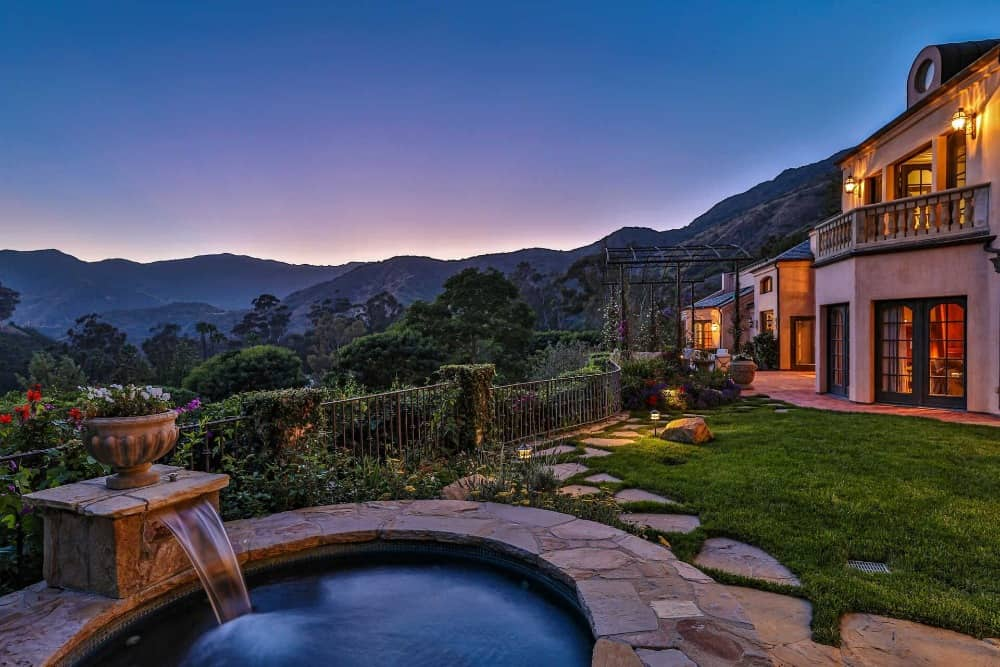 Here's another view of the stunning scenery that can be viewed from the home's backyard. Images courtesy of Toptenrealestatedeals.com.